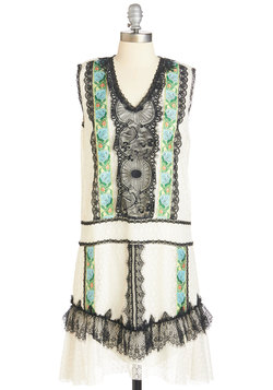 Anna Sui All Falls into Lace Dress