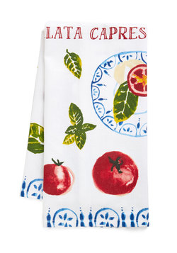 Caprese About You Tea Towel