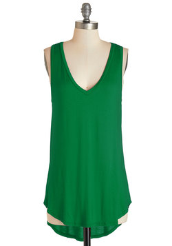 Endless Possibilities Tunic in Green