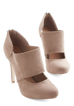 Props to Your Panache Heel in Taupe