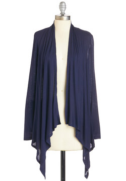 So Very Classic Cardigan in Navy
