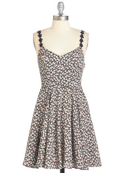 Bespeckled with Blossoms Dress