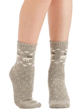 Most Wonderful Time of the Reindeer Socks