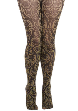 Ornate Opulence Tights