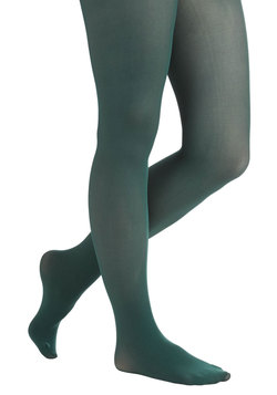 Sprinkle of Style Tights in Juniper