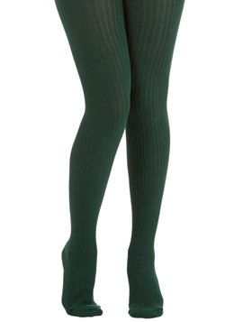 Cover Your Basics Tights in Forest