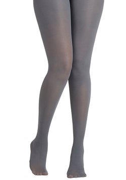 Layer It On Tights in Light Grey