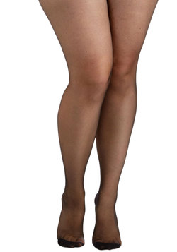 Back Seams to Me Tights in Plus Size