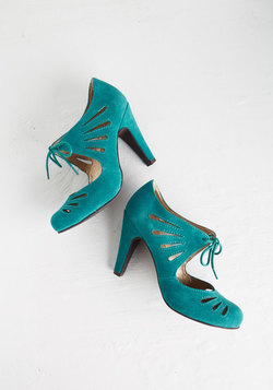 Brave Heel in Teal