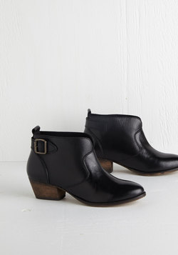 Step Up to the Fete Bootie in Black