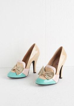 Spring is in the Aria Heel