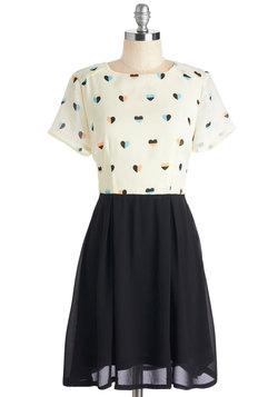 Heart Skips a Pleat Dress