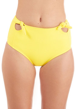 Pool it Together Swimsuit Bottom in Sunshine