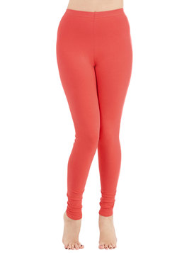 Simple and Sleek Leggings in Coral