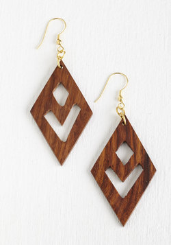 Wooden It be Fun? Earrings