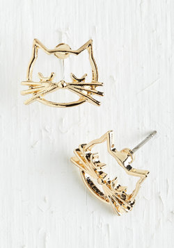 Came as a Cat Earrings