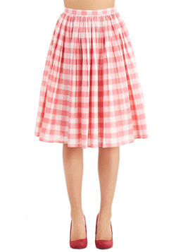 Parisian Picnic Skirt