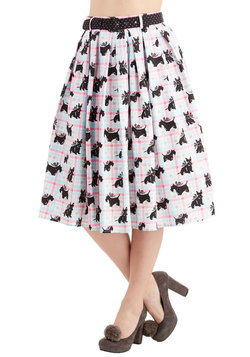 Scot-tea Party Skirt