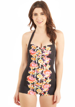 Be That as it Bouquet One-Piece Swimsuit in Flower Box