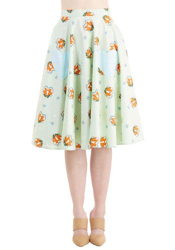 Foxy Flirting Skirt