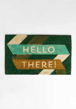Pleased to Greet You Doormat
