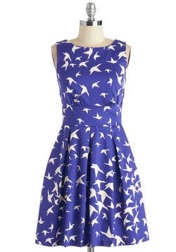 Ain't We Haute Fun? Dress in Birds