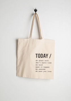 A Way with Verbs Tote