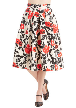 Only a Flatter of Time Skirt