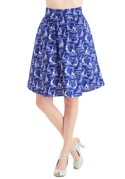 Wave New World Skirt