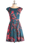 Fluttering Romance Dress in Palms