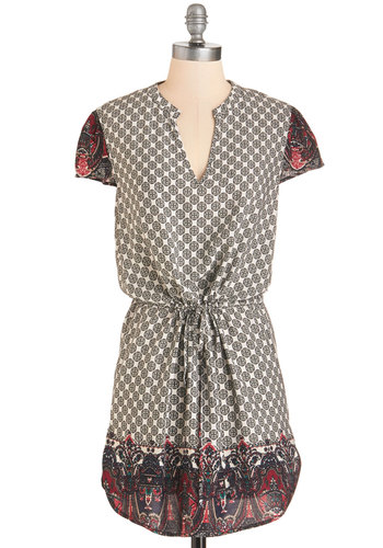 Walk on the Tiled Side Tunic