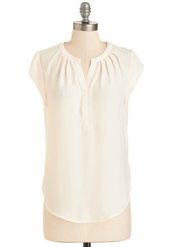 Most Lightly to Succeed Top in Ivory