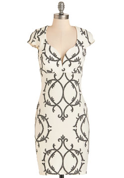 The Vine Print Dress