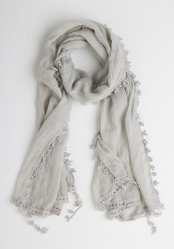 Appreciate the Allure Scarf in Grey