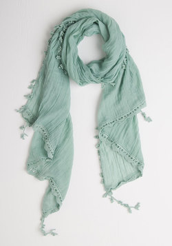 Appreciate the Allure Scarf in Mint
