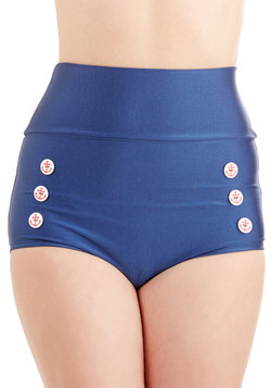 Merry Mariner Swimsuit Bottom in Blue