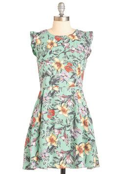 Optimistic Botanist Dress