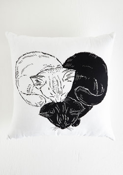 In the Throws of Love Pillow