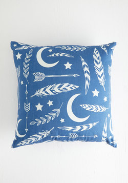 Aim for the Moon Pillow