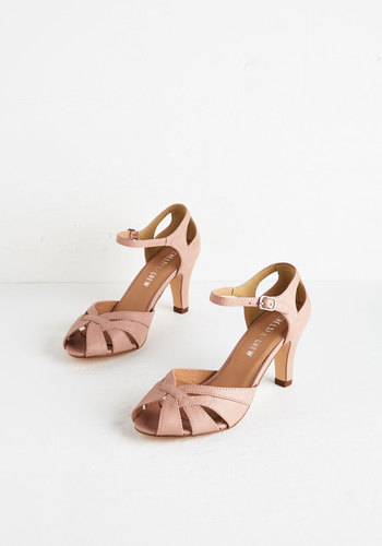 Tout de Sweet Heel in Dusty Rose