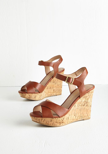 Par for the Corks Wedge in Cognac