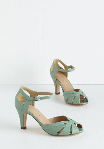 Tout de Sweet Heel in Mint