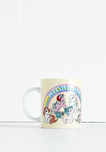 May the Horse Be with You Mug - Multi, 80s, Fairytale, Good, Novelty Print, Vintage Inspired, 90s, Gals, Under $20, Top Rated