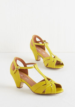 Architectural Tour Heel in Citron