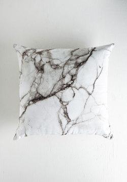 Take Nothing for Granite Pillow in Grey