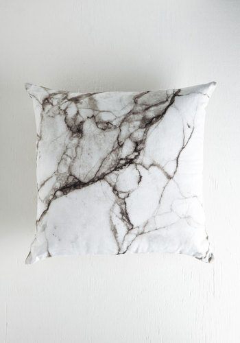 Take Nothing for Granite Pillow in Grey