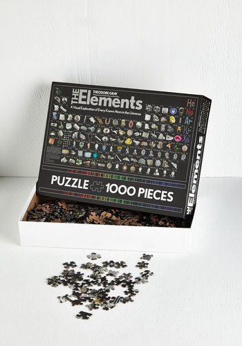 The Elements Puzzle - Multi, Good, Nifty Nerd, Top Rated