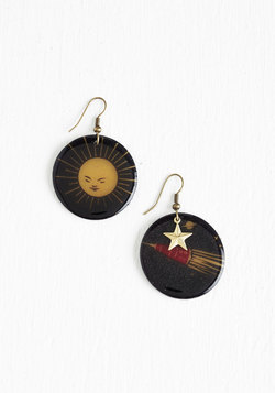 Glam On the Moon Earrings
