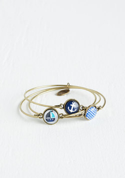 You've Yacht to See This Bracelet Set