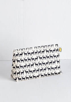 Stags to Riches Makeup Bag